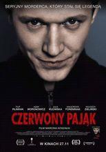 Plakat filmu Czerwony pająk