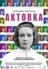 Plakat filmu Aktorka