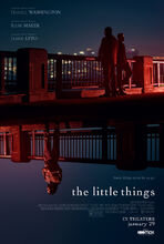 Movie poster The Little Things