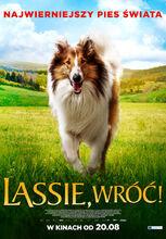 Plakat filmu Lassie, wróć!