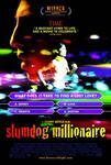 Plakat filmu Slumdog. Milioner z ulicy