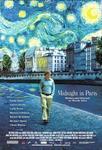 Plakat filmu O północy w Paryżu