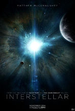 Plakat filmu Interstellar